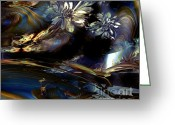 Conseptual Art Greeting Cards - Dreamscape Greeting Card by Doris Wood
