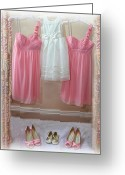 Wear Greeting Cards - Dress to Impress Greeting Card by Alex Hardie