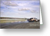 Drifting Greeting Cards - Drifting at Abbeville Greeting Card by Andy Smy