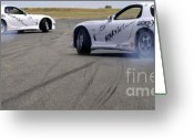 Drifting Greeting Cards - Drifting Couple Greeting Card by Andy Smy