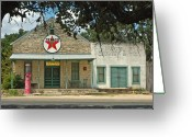 Texas Hill Country Greeting Cards - Driftwood Store Greeting Card by Robert Anschutz