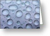Dj Florek Greeting Cards - Droplets Greeting Card by DJ Florek