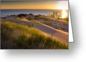 "\""sunset Photography Prints\\\"" Greeting Cards - Dunes Greeting Card by Jason Naudi Photography"
