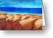 Male Sculpture Greeting Cards - Dunes Greeting Card by Jeff Boss