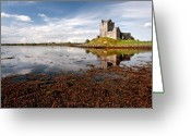 Co Galway Greeting Cards - Dunguaire Castle Kinvara co Galway Ireland Greeting Card by Pierre Leclerc