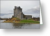 Co Galway Greeting Cards - Dunguaire Castle Greeting Card by Martina Fagan