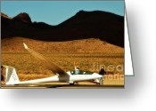 Nv Greeting Cards - Duo Discus DDX at Air Sailing Nevada Greeting Card by Gus McCrea