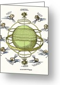 Armillary Greeting Cards - Durers Armillary Sphere Greeting Card by Sheila Terry