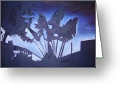 Matthew Lake Greeting Cards - Dusk in the city Greeting Card by Matthew Lake