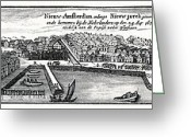 Critical Illustration Greeting Cards - Dutch Recapture Of New York, 1673 Greeting Card by Cci Archives