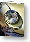 Jaguar E Type Greeting Cards - E-Type Jaguar 4.2 Greeting Card by Gordon Dean II