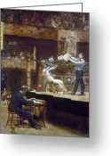 Judge Greeting Cards - Eakins: Between Rounds Greeting Card by Granger