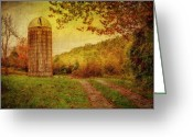 Autumn Scenes Photo Greeting Cards - Early Autumn Greeting Card by Kathy Jennings