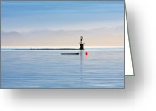 Port Hardy Greeting Cards - Early morning light Greeting Card by Darryl Luscombe