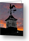 Weather Vane Greeting Cards - East by South Greeting Card by Brian Roscorla