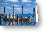 Rick Mckinney Greeting Cards - Eastpoint Gray Greeting Card by Rick McKinney