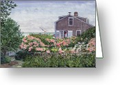 Mcentee Painting Greeting Cards - Eastward Look Greeting Card by Bill McEntee