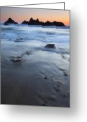 Ebb Greeting Cards - Ebb Stones Greeting Card by Mike  Dawson