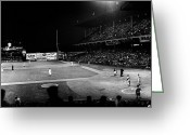 Brooklyn Dodgers Stadium Greeting Cards - Ebbets Field, 1957 Greeting Card by Granger