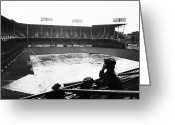 New York Yankees Greeting Cards - EBBETS FIELD, c1950 Greeting Card by Granger