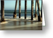San Simeon Greeting Cards - Echoes of Time Greeting Card by Jeffrey Campbell