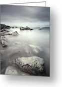 Klarecki Greeting Cards - Echos ancient stone II Greeting Card by Pawel Klarecki