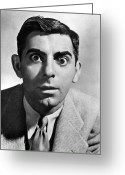 1930s Greeting Cards - Eddie Cantor (1892-1964) Greeting Card by Granger