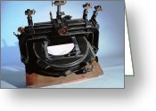 Solar Eclipse Greeting Cards - Eddingtons Comparator Greeting Card by Volker Steger