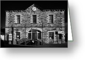 Town Hall Greeting Cards - Ederney Market House Town Hall Fermanagh Northern Ireland Greeting Card by Joe Fox