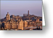 Britain Greeting Cards - Edinburgh Scotland - A Top-Class European City Greeting Card by Christine Till