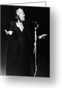 Edith Greeting Cards - Edith Piaf 1915-1962 Greeting Card by Granger