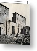 Archaeological Greeting Cards - Egypt: Temple Of Isis Greeting Card by Granger