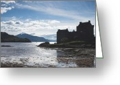 Loch Greeting Cards - Eilean Donan Castle Greeting Card by Pat Speirs