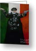Troy Greeting Cards - El Duce No.1  Greeting Card by Christopher  Chouinard