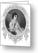 Custis Greeting Cards - Eleanor Parke Custis Lewis Greeting Card by Granger