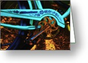 Huisken Greeting Cards - Electra Bicycle Greeting Card by Lyle  Huisken