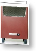 Heater Greeting Cards - Electric Heater Greeting Card by Victor De Schwanberg