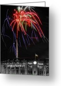 Illuminations Greeting Cards - Electric Spider Legs Greeting Card by Kevin Munro