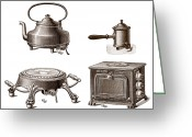 Appliances Greeting Cards - Electrical Appliances, 1900 Greeting Card by Sheila Terry