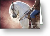 Charro Greeting Cards - Elegance Greeting Card by Jim and Emily Bush