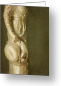 Proper Greeting Cards - Elegance Greeting Card by Margie Hurwich
