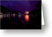 Nainital Photo Greeting Cards - Elements Greeting Card by Greg Palmer