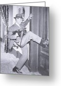 Tommy Gun Greeting Cards - Eliot Ness Greeting Card by Unknown