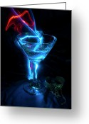 Nightclub Greeting Cards - Elixir of the Gods Greeting Card by Barbara  White
