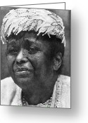 Civil Rights Greeting Cards - Ella Baker (1903-1986) Greeting Card by Granger