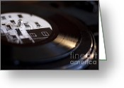 Vinyl Greeting Cards - Elliott Smith Vinyl Greeting Card by Kristi Jacobsen