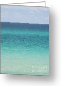 Panama City Beach Greeting Cards - Emerald Coast Greeting Card by Jan Prewett