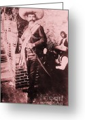 Zapata Greeting Cards - Emiliano Zapata Greeting Card by Pg Reproductions