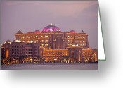 Bauwerk Greeting Cards - Emirates Palace Greeting Card by Peter Schickert