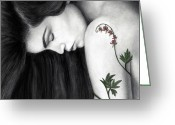 Edgy Greeting Cards - Empathy Greeting Card by Pat Erickson